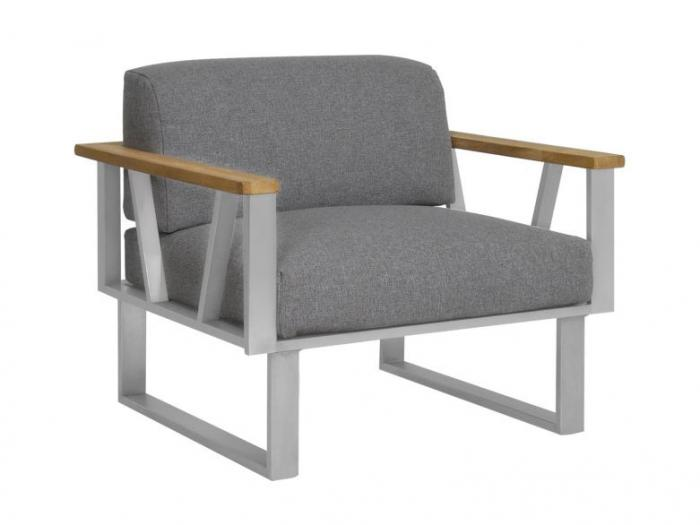 Zebra Belvedere Lounge Sessel Set - Polyacryl