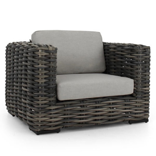 Apple Bee Elements XL black wash Loungesessel