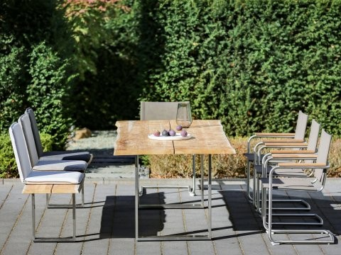 Niehoff Gartenmöbel Sitzgruppe Solid-Nathalie-Nette 1