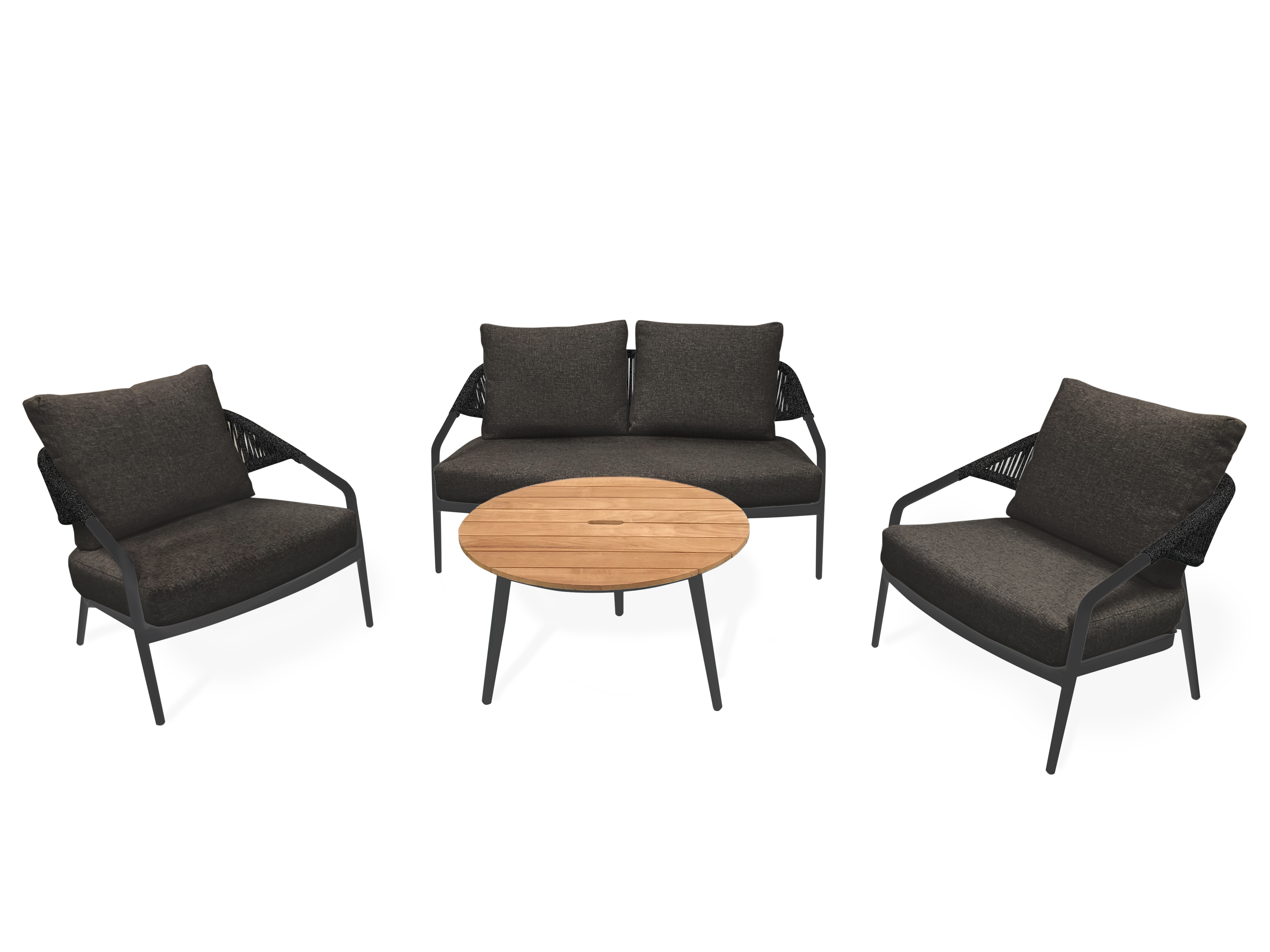 Zebra Gartenmöbel-Set Pixel Lounge