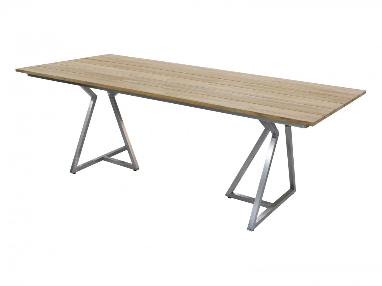 Zebra Triangel Tisch 210cm
