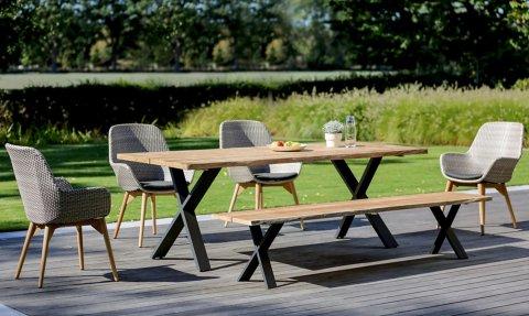 Niehoff Gartenmöbel Sitzgruppe Xenio-Nica