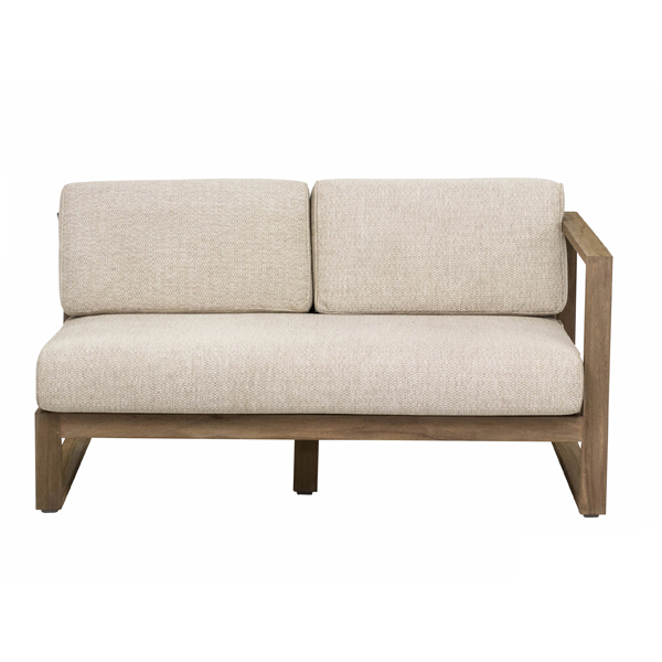 Apple Bee Antigua Loungesofa 2-Sitzer, Armlehne links