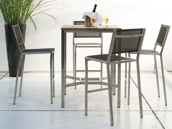 Zebra Gartenmöbel-Set Pontiac-1: Die Dekoration gehört nicht zum Lieferumfang.