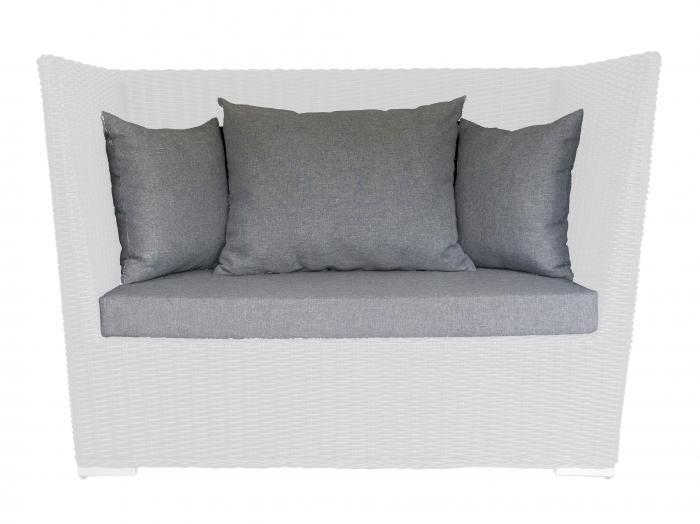 Die Abbildung zeigt das Kissen-Set Jack Brasserie. Das Sofa gehört nicht zum Lieferumfang.