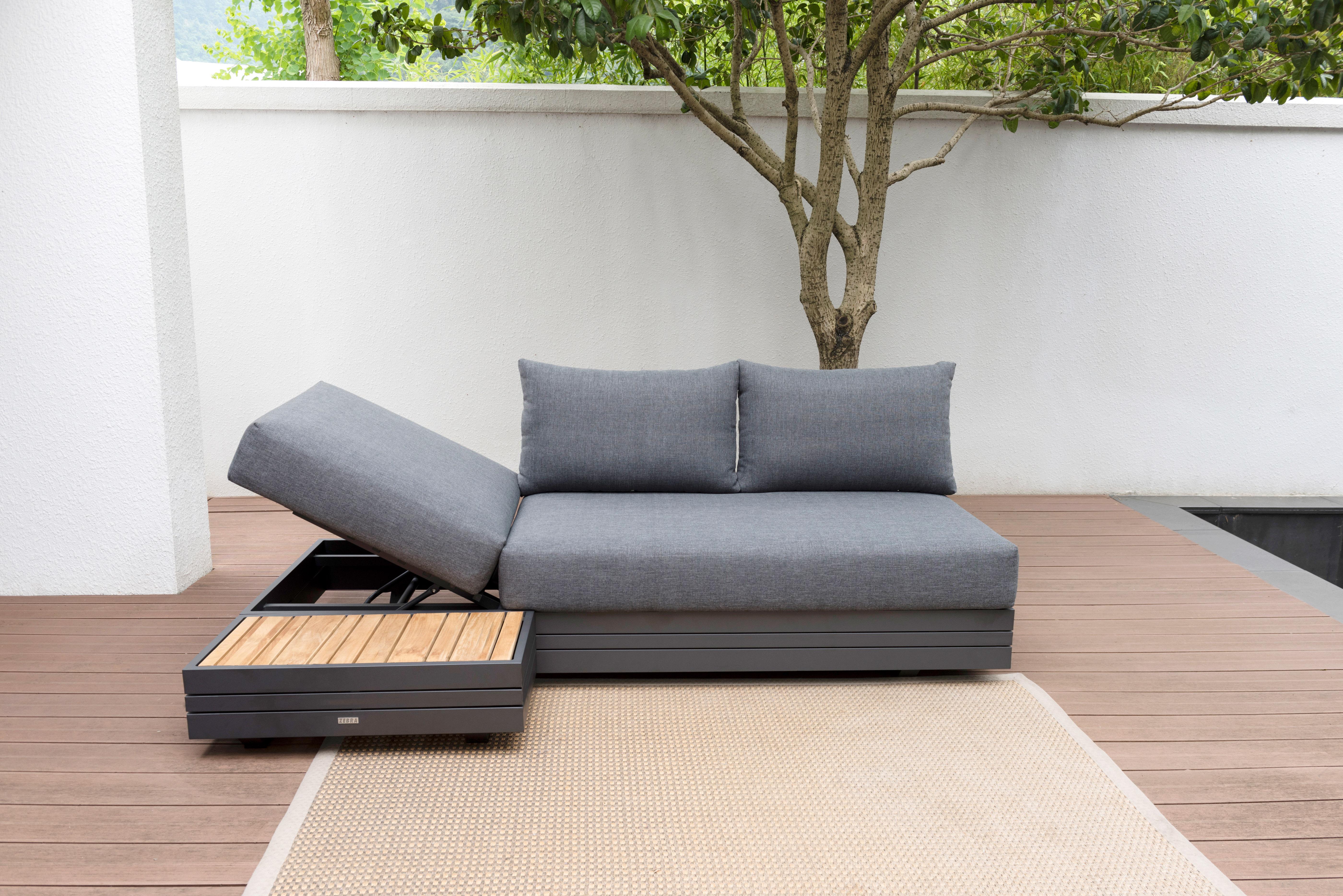 Zebra Gartenmöbel-Set Cubo Lounge-2