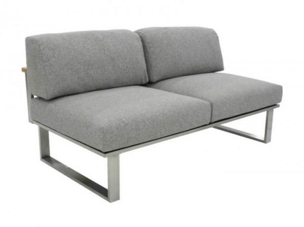 Zebra Belvedere Lounge 2-Sitzer Polypropylen- Set Mitte
