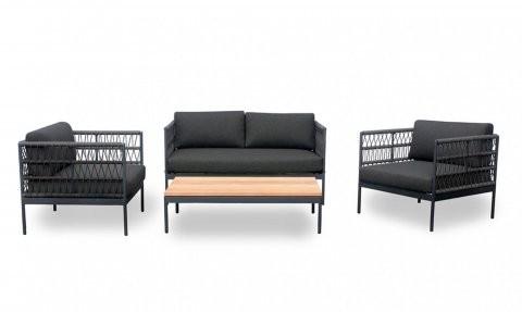 Niehoff Gartenmöbel Loungegarnitur Azuri 4