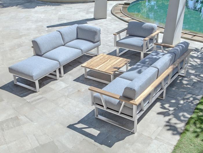 Zebra Gartenmöbel-Set Polypropylen Belvedere Lounge