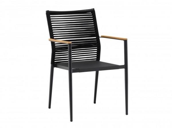 Zebra Sessel Spider, abweichend, ohne Sitzkissen.