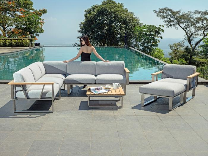 Zebra Gartenmöbel-Set Polypropylen Belvedere Lounge 2