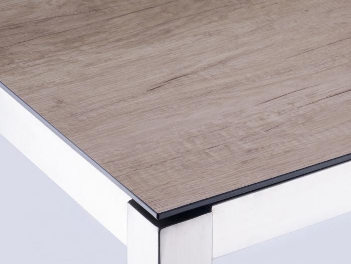 Zebra Kunstharzplatte Wildeiche 180cm