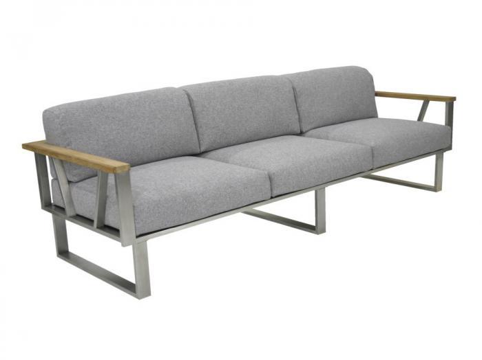 Zebra Belvedere Lounge 3-Sitzer Set - Polypropylen
