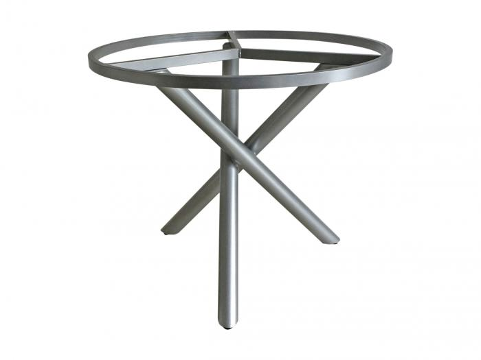 Zebra Mikado Tischgestell Palladium