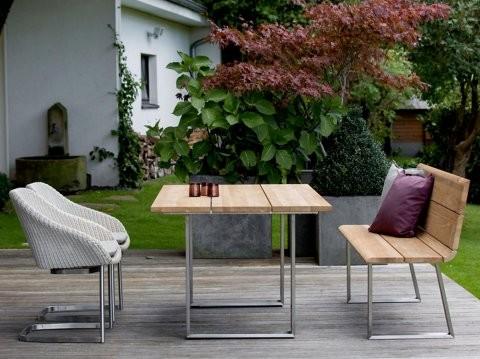 Niehoff Gartenmöbel Sitzgruppe Noah-Nova-Nizza (Lieferung ohne Dekokissen und Dekoration)
