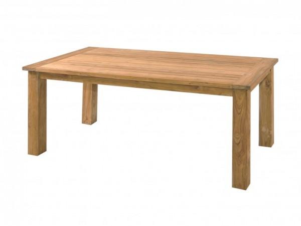 Die Abbildung zeigt, abweichend, den Tisch Oskar in der Größe 180x90cm.