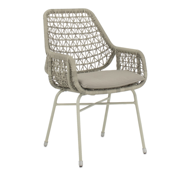 Apple Bee Zara Dining Chair white blaze