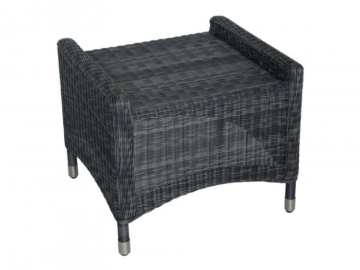 Zebra Novus Hocker Grey Black