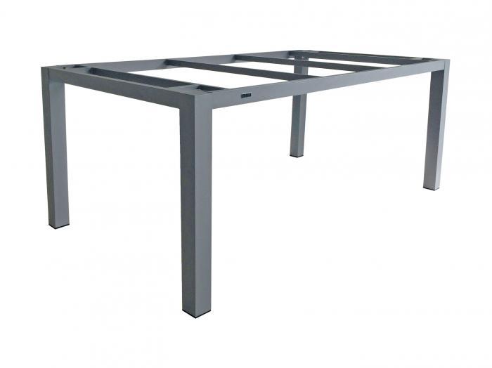 Zebra Alus Tischgestell 180cm Palladium
