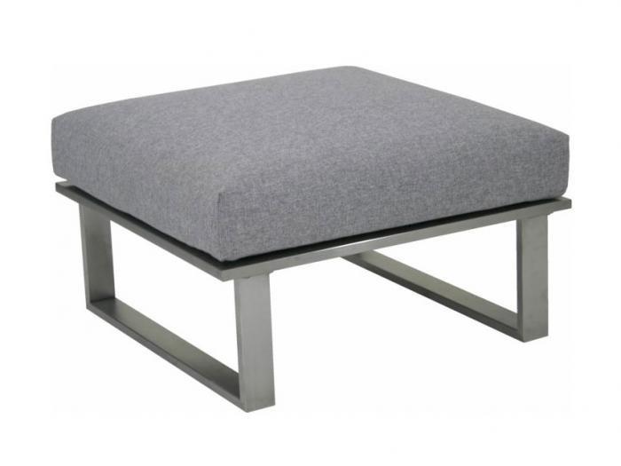 Zebra Belvedere Lounge Hocker Set - Polyacryl