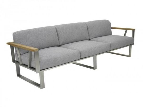 Zebra Belvedere Lounge 3-Sitzer Set - Polyacryl