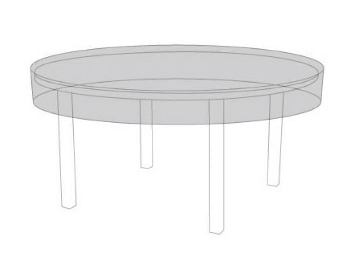 Zebra Schutzhülle für Tisch Oryx 6106