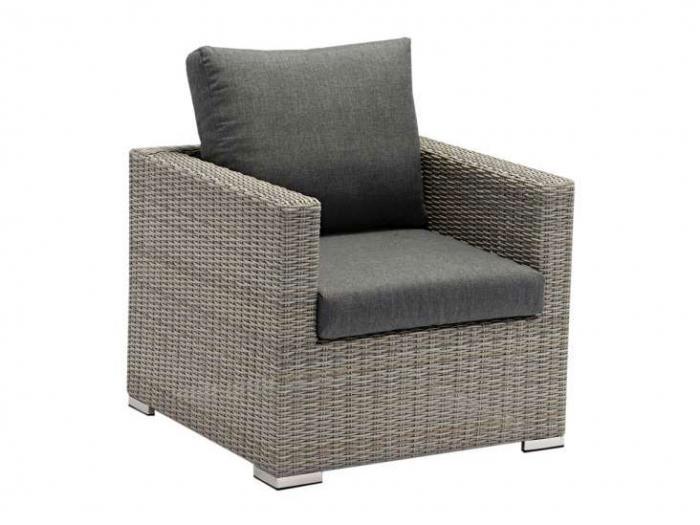 Zebra Jack Lounge Sessel Comfort Slate