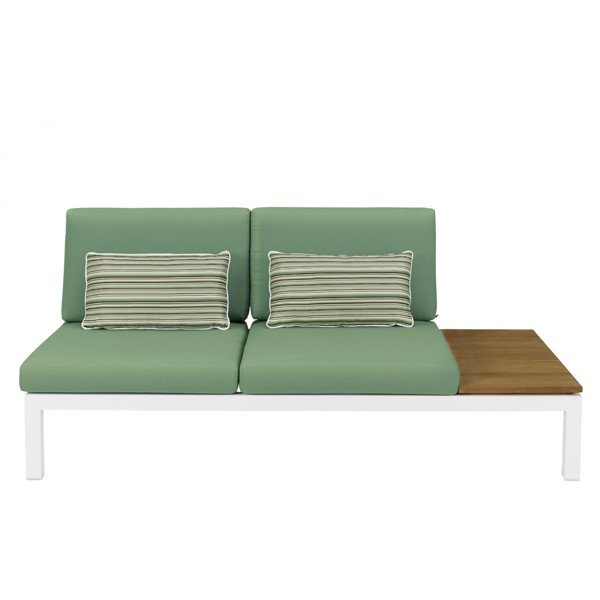 Apple Bee Pebble Beach Teak Loungemodul links