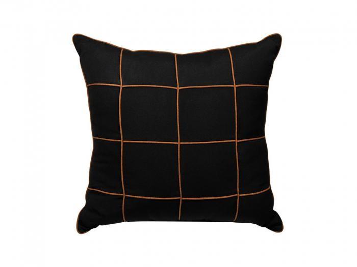 MamaGreen Zierkissen schwarz 60x60cm