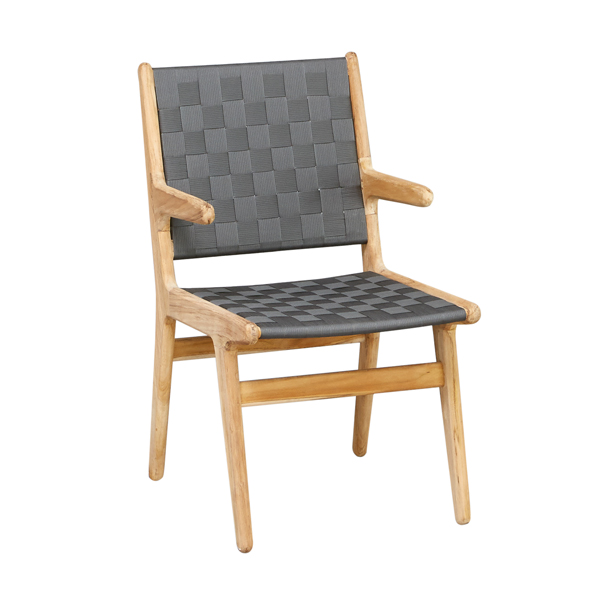 Apple Bee Juul Dining Chair Pavement mit Armlehne