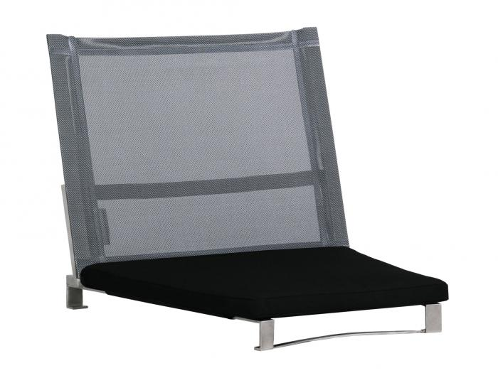 Das Sitzkissen schwarz gehört nicht zum Lieferumfang.