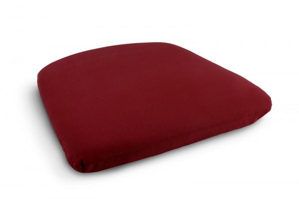Niehoff Nizza Sitzkissen bordeaux-rot, 38x38cm