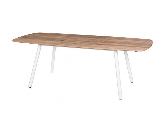 Die Abb. zeigt den ausgezogenen Tisch.