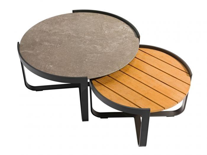 Zebra Fly Lounge Tisch-Set