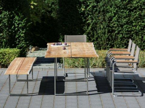 Niehoff Gartenmöbel Sitzgruppe Solid-Nathalie 1