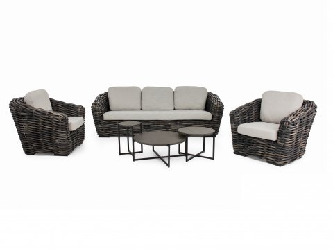 Apple Bee Palm Bay-Soul Lounge-Set, black wash