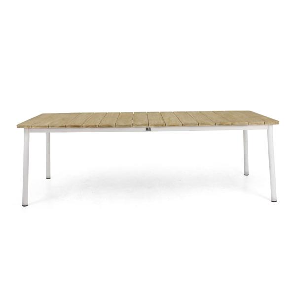 Apple Bee Milou Tisch Teak weiß 240cm