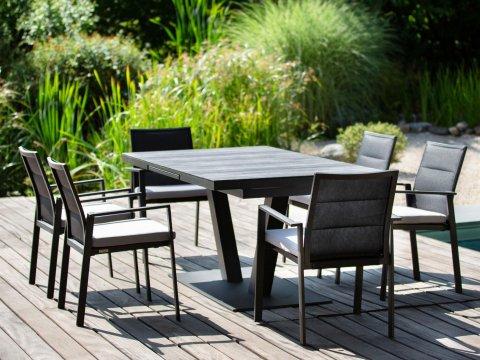 Niehoff Gartenmöbel Sitzgruppe Plank-Nancer