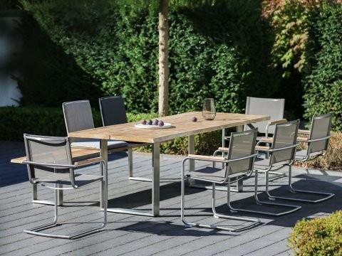 Niehoff Gartenmöbel Sitzgruppe Solid-Nathalie-Nette 2