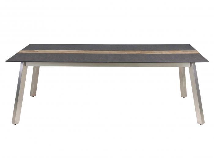 Zebra Linax Tisch HPL 220cm ausziehbar