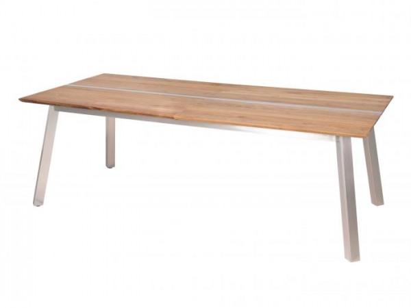Zebra Linax Tisch Teak 220cm ausziehbar