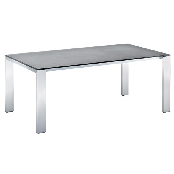 Niehoff Newport Tisch verlängerbar 100x180cm, HPL Beton-Design