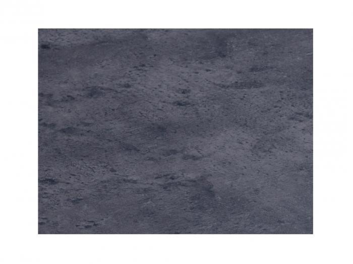 Zebra Sela Kunstharzplatte Beton dunkel 110cm rund