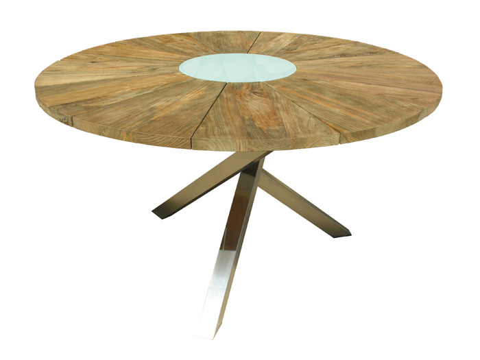 Zebra Oryx Tisch 135cm