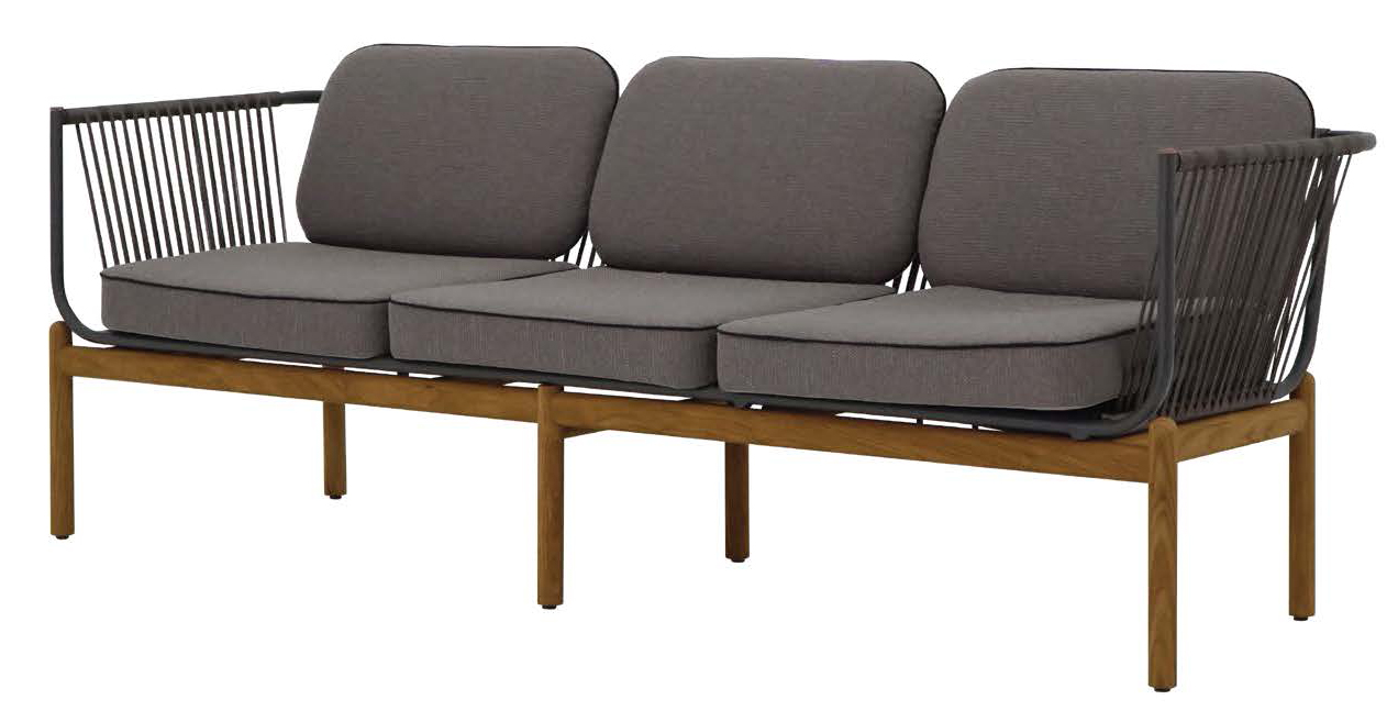 Zebra Pollux Lounge 3-Sitzer