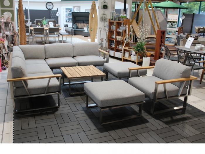 Zebra Gartenmöbel-Set Polypropylen Belvedere Lounge 3