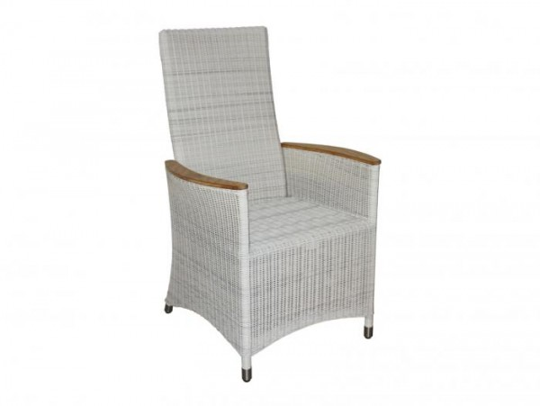 Zebra Loomus Relax-Sessel Silk White