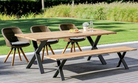 Niehoff Gartenmöbel Sitzgruppe Xenio-Nizza