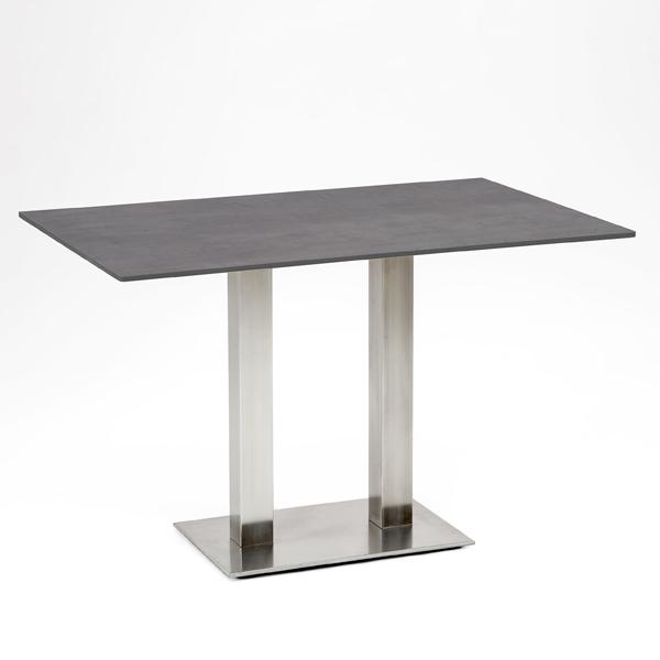 Die Abb. zeigt den Tisch in der abweichenden Größe 120x81cm
