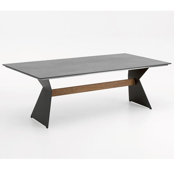 Niehoff Nero Tisch 200cm, HPL Beton-Design